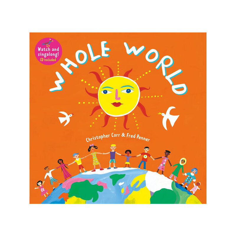 Whole World(A Barefoot Singalong)整个世界(书+CD)ISBN9781846868320