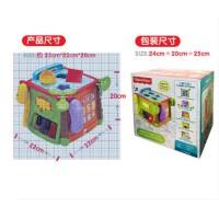 Fisher Price费雪探索学习六面盒(双语)早教益智儿童玩具