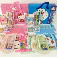 初中小学生学习用品礼盒卡通生日礼物奖品中性笔修正带本子