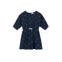 【网易严选年货节 清仓专区】双层纱 女童宽松版型连身裙