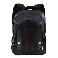 沐阳 MYA08 笔记本电脑背包 商务休闲双肩包 男女大中学生书包 户外旅行包 电脑包 15.6英寸多功能双肩包 运动休闲笔记本双肩背包 黑色