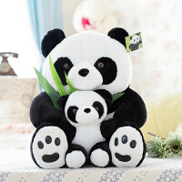 新款 熊猫毛绒玩具网红可爱萌抱枕公仔抖音男生床上创意 软女生