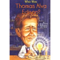 Who Was Thomas Alva Edison? 漫画名人传记:托马斯・爱迪生 ISBN 978044843765