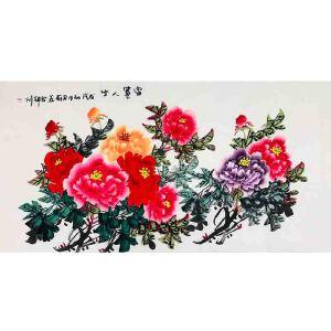 河南省美术家协会会员 徐君莉《富贵人生》DYP116