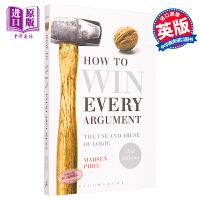 【中商原版】英文原版 How to Win Every Argument 如何赢得每一个参数 Madsen Pirie