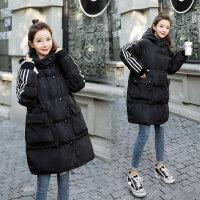 孕后期冬装棉袄外套秋冬季孕妇中长款韩版宽松棉衣