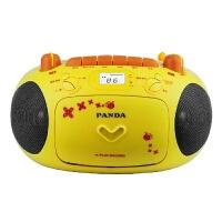 熊猫CD-201 CD机幼教机胎教机录音机磁带面包机收录收音机卡通款六一好礼物!