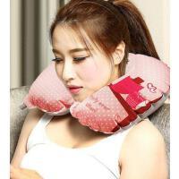 吹气不费力 保护颈椎 U型枕充气枕头长途旅行枕便携飞机枕旅游吹气颈椎枕护颈枕 易收纳 支持礼品卡