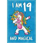 预订 Unicorn B Day: I am 19 & Magical Unicorn birthday ninete