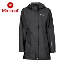 Marmot/土拨鼠女士防水透气冲锋衣压胶连帽冲锋衣