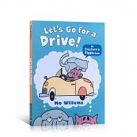 (99元5件)英文原版绘本 小猪小象 开车去兜风 Let's Go for a Drive! 儿童英语启蒙情商图文故事