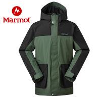 Marmot/土拨鼠2020春夏款户外100%压胶防水透气男士行进夹克冲锋衣