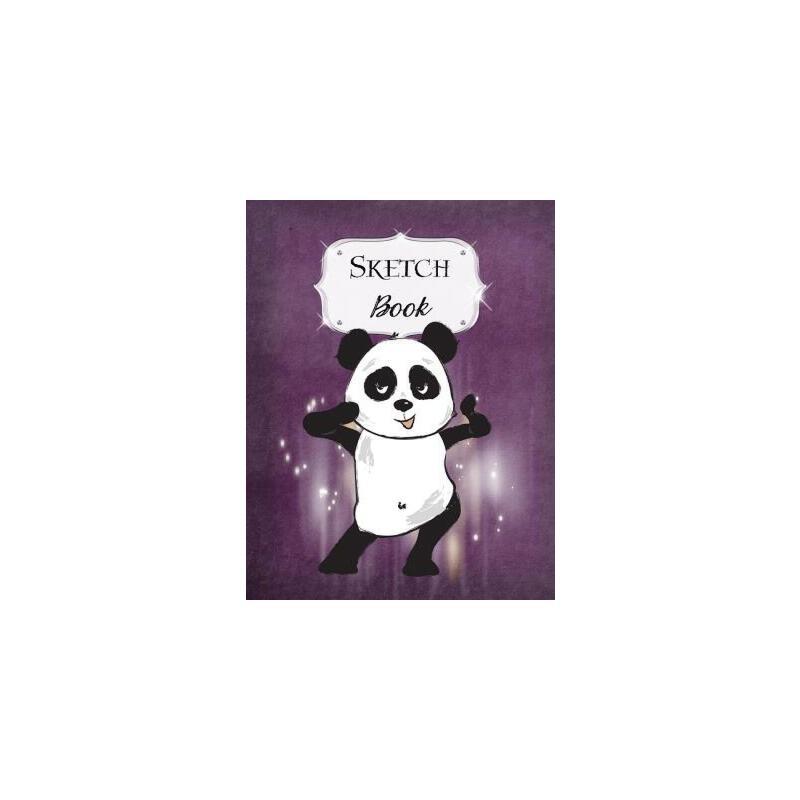 预订 Sketch Book: Panda - Sketchbook - Scetchpad for Drawing or Doodling - No [ISBN:9781077598027] 美国发货无法退货 约五到八周到货