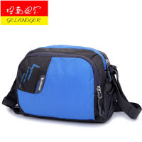 格蓝迪尔GELANDER 旅行包超大容量防水尼龙面料 男女通用单肩包背斜挎包 手提包