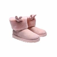 【网易严选 清仓秒杀 冬季保暖】女式鹿角可拆卸雪地靴