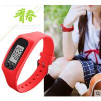 男女学生电子手表 时尚个性 户外运动计步卡路里多功能腕表