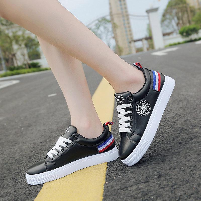 ELEISE美国艾蕾莎新品061-22868学院女士板鞋
