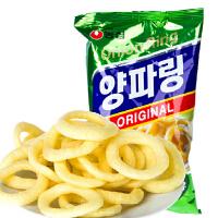 韩国进口食品 农心原味洋葱圈84g 休闲零食品 进口膨化零食品