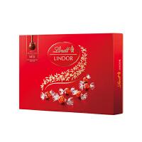 Lindt瑞士莲软心牛奶巧克力-14粒装礼盒168克保质期至20年4月