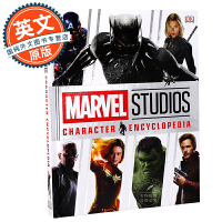 漫威影业角色百科全书 英文原版 Marvel Studios Character Encyclopedia 电影周边