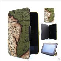 【支持礼品卡】2012款kindle fire HD7保护套 亚马逊平板电脑地图纹皮套 7寸