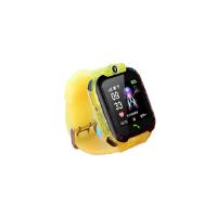 天健透明琉璃荧光驱蚊表带儿童电话手表可通话防水实时定位多功能乐萌兔-98