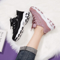 斯凯奇女鞋男鞋休闲鞋运动鞋熊猫鞋老爹鞋