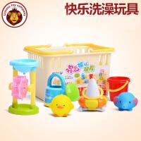 宝宝洗澡玩具儿童戏水玩水浴室玩具花洒喷水小孩婴儿洗澡玩具套装