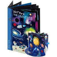 英文原版 The Universe 宇宙 360度剧场立体书 礼品书 儿童STEAM科普操作书 Sassi出品