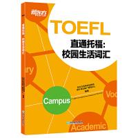 直通托福:校园生活词汇 TOEFL单词词汇学习艾宾浩斯遗忘曲线