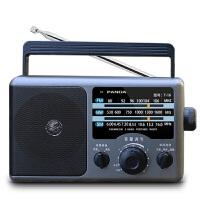熊猫收音机 16全波段收音机老年人便携式手提广播半导体