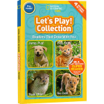 National Geographic Kids Readers Let's Play Collection 4个动物