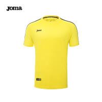 JOMA荷马男士比赛短袖T恤足球训练服运动上衣