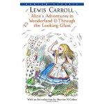 英文原版经典 Alice's Adventures in Wonderland 爱丽丝梦游仙境与镜中奇遇记 电影原著小
