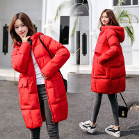 冬季韩版棉袄女大肚子棉衣孕妇冬装孕后期时尚宽松外套