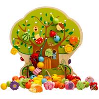 男孩女宝宝积木0-1-2岁-3周岁 儿童早教串珠6一12个月婴幼益智玩具