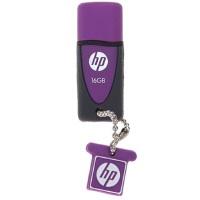 [大部分地区包邮] 惠普(hp)环保矽胶U盘 ( v245L ) 32G B(紫色)环保矽胶, 防水防尘防