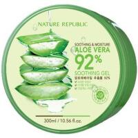 纳益其尔NatureRepublic(自然乐园)芦荟舒缓保湿凝胶300ml绿色