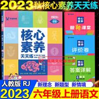 核心素养天天练六年级上语文上册人教版2021秋同步训练辅导资料