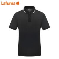 LAFUMA 法国乐飞叶男士夏季户外登山徒步快干翻领短袖T恤LMTS7B429
