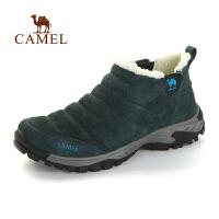 camel 骆驼 户外男女徒步鞋 秋冬保暖加绒防滑减震徒步鞋