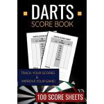 预订 Darts Score Book: 100 Darts Score Sheets 6x9 Score Keepe