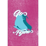 预订 Go Figure: All Purpose 6x9 Blank Lined Notebook Journal