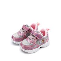 【99元任选2双】迪士尼童鞋女童休闲靴子冬季户外鞋宝宝鞋