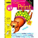 I Can Print (Grade K-1, Little Golden Book) 我会描字(金色童书,学龄前练习册)ISBN 9780307036742