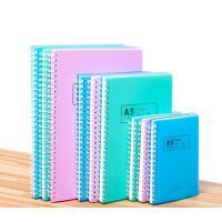 3本装 申士 A5螺旋本 线圈记事本子 加厚笔记本 文具 A6 学生日记本