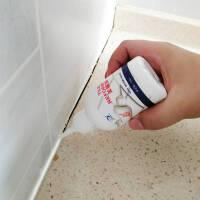 瓷砖美缝剂白色 防水防霉 勾缝剂地板砖缝隙填缝剂玻璃胶水性配方