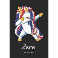 预订 Zara - Notebook: Blank Lined Personalized & Customized N