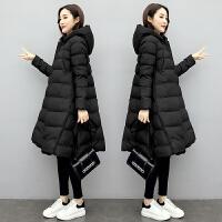 秋冬季韩版宽松中长款棉袄怀孕衣服孕妇冬装棉衣外套