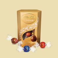 Lindt瑞士莲软心精选巧克力-16粒分享装 | 200g(临期清仓特卖)保质期至20年4月